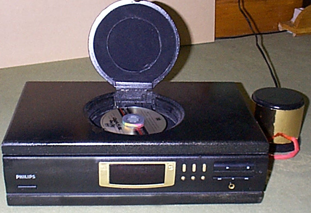 Converted Philips CD723